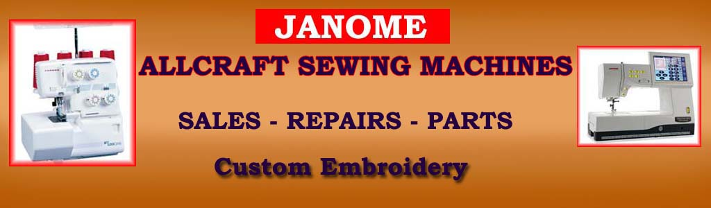 All Craft Sewing Machines Tweed Heads South for Sales, Service, Spare Parts and Custom Embroidery for Business